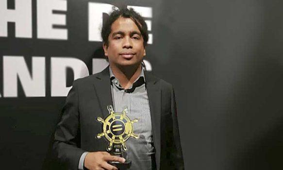 vestigador de la UOH recibió premio a Afrocolombiano del Año