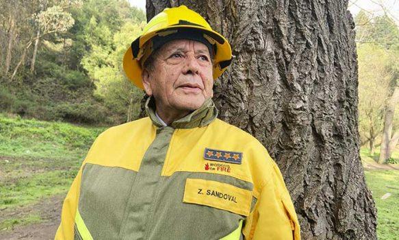 Zacarías Sandoval, la historia de una leyenda entre los brigadistas forestales