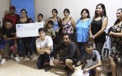 Alcalde de Rancagua entregó subvención a escuela municipal de fútbol