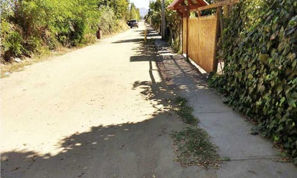 Alcaldesa de Palmilla consiguió recursos para pavimentación de callejón donoso