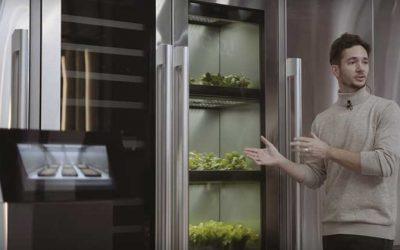 Aplicaciones de apoyo de LG desarrollan el primer cultivador de vegetales interiores