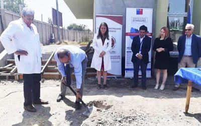 Autoridades dan el vamos al término de obras Cecosf Loreto de Coltauco