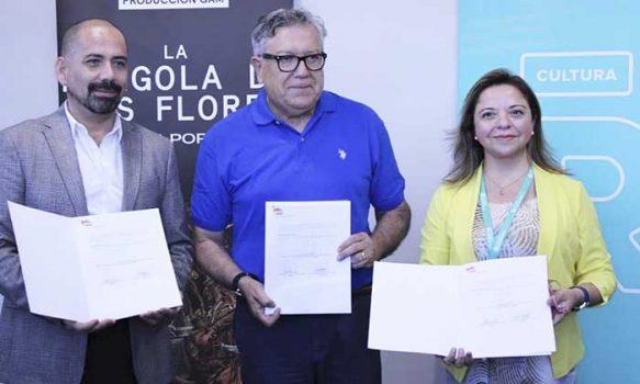 Corporación de la Cultura y las Artes de Rancagua y GAM inician convenio con nueva versión de 'La pérgola de las flores' en Rancagua
