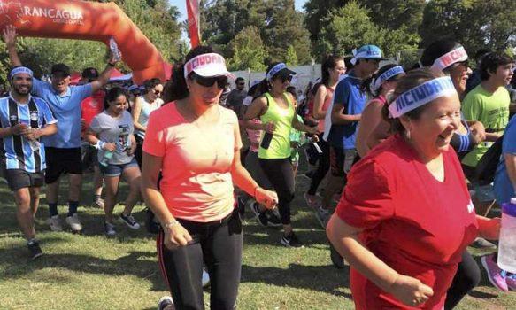 Corrida familiar fomentó la paz y el deporte en Rancagua