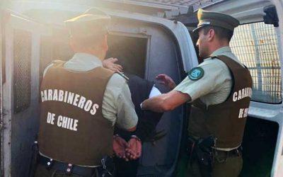 Dos sujetos fueron detenidos por porte ilegal arma de fuego y munición
