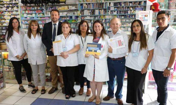 En farmacias de barrio se dieron a conocer los beneficios de la Nueva Ley de Fármacos