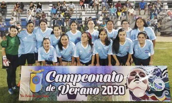 Este sábado se disputa gran final de fútbol femenino verano Palmilla 2020