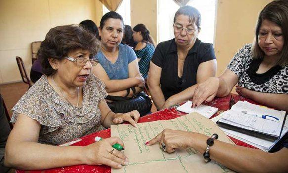 Fondo Esperanza, Hogar de Cristo y Techo entregan reveladores resultados de los círculos territoriales