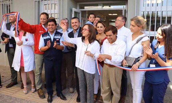 Gobierno inaugura dos modernos edificios de salud