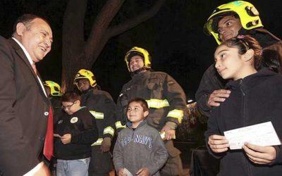 Graneros nuevamente entregará Becas de Estudio para Voluntarios e Hijos de Bomberos y Cruz Roja