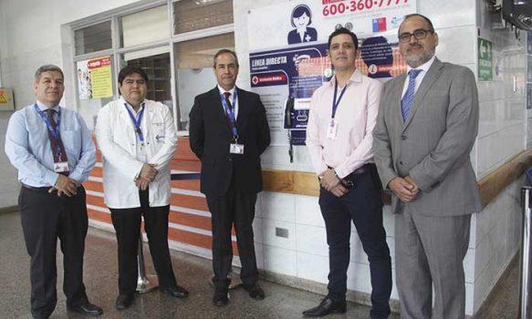 Hospital de Rengo cuenta con el primer equipo telefónico de Salud Responde en la región