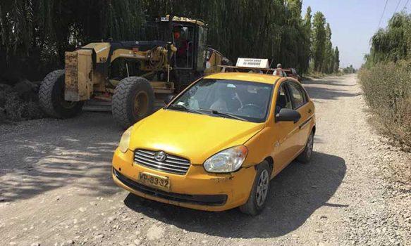 Importantes gestiones de alcaldesa de Palmilla permite inicio de trabajos de asfaltado en Agua Santa y Talhuén