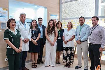 Inauguran moderna sala familiar en Hospital Regional de Rancagua