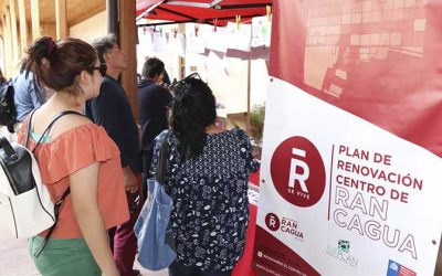 Kioscos de consultas y sugerencias recogerá iniciativas de rancagüinos para remodelación del centro histórico de la ciudad