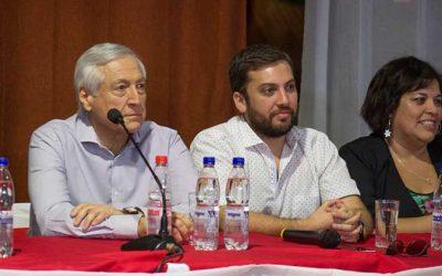 La jornada de bienvenida del PPD al diputado Raúl Soto tras su ingreso a la bancada de diputados
