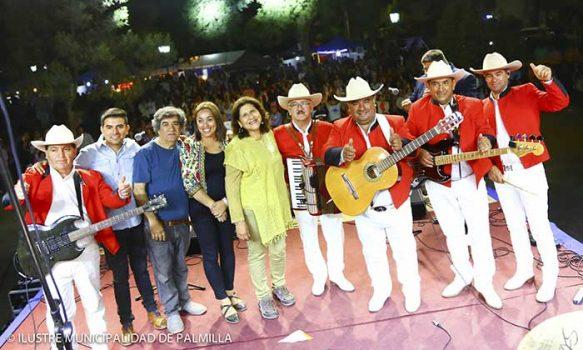 Masiva celebración del día del roto chileno e inicio de programa de verano palmilla 2020
