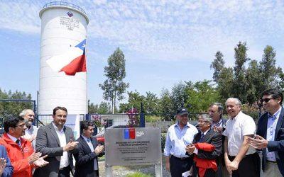Ministro Moreno inaugura esperado mejoramiento de Sistema de Agua Potable Rural San Enrique en Chimbarongo