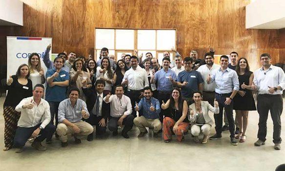 Nueve regiones de Chile se reúnen en O'Higgins para intercambiar experiencias sobre Programa Acelera de la Corfo