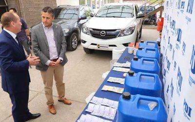 O'Higgins: Tecnología financiada por el Gobierno permite descubrir y desbaratar red de narcotráfico en la región