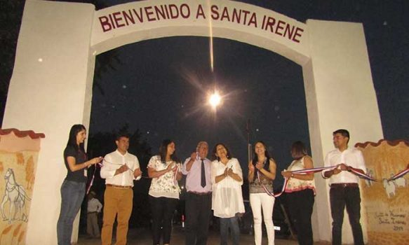 Palmilla: Inauguración de obras de restauración de histórico arco de Santa Irene