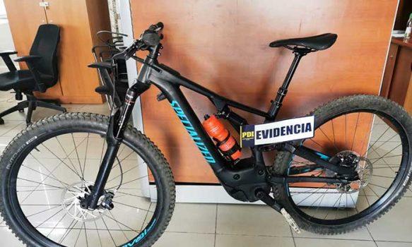 PDI recupera en Rancagua bicicleta que el día anterior había sido sustraída en Concepción