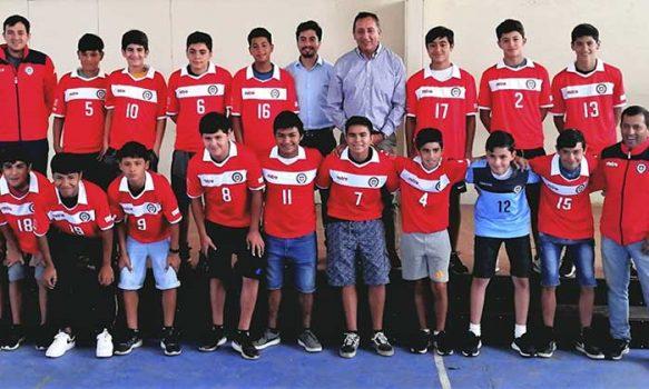 Rancagüinos representarán a Chile en torneo sudamericano de fútbol