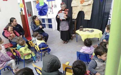 """Salud Machalí fomenta el autocuidado en preescolares por medio de innovadora estrategia de """"cuenta cuentos"""""""