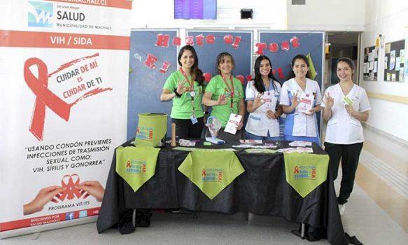 Salud Machalí fomentó la prevención del VIH a través de la campaña ministerial #EsPositivoSaber