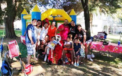Samu Graneros celebró Navidad en familia