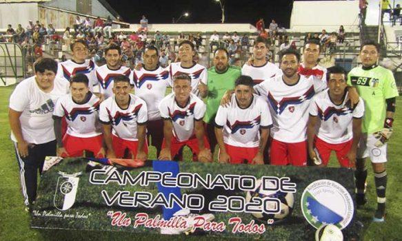 Seis elencos tras semifinales de torneo de fútbol Palmilla 2020
