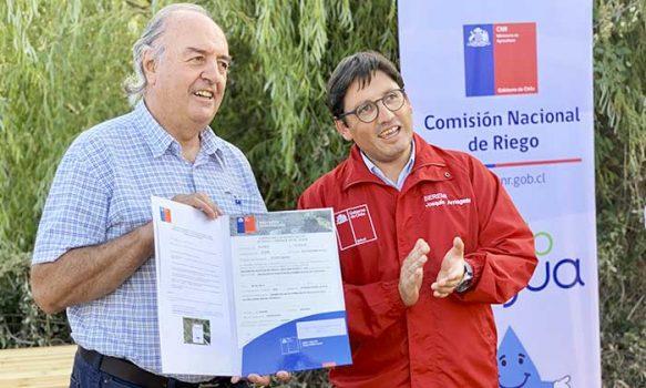 Seremi de Agricultura entrega casi $500 millones para obras de riego esta semana
