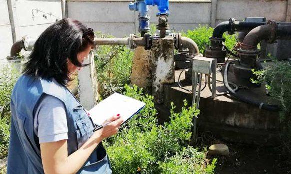 Seremi de Salud O'Higgins fiscaliza abastecimiento de agua potable en Jamboree 2020