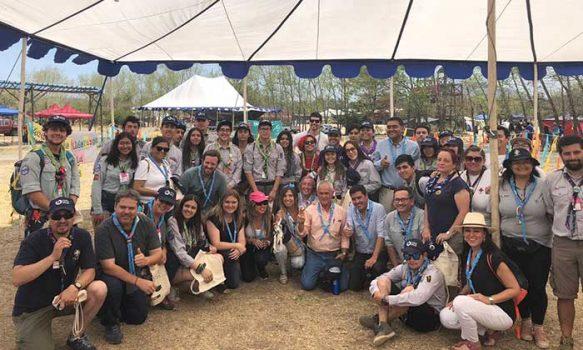 Seremis del Medio Ambiente participan del Jamboree Nacional de Guías y Scouts de Chile
