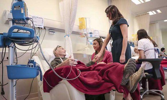 Servicio de Oncología del Hospital Regional garantiza tratamiento humano y personalizado