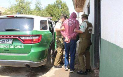 Sujeto con amplio prontuario policial fue detenido por carabineros