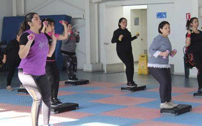 Verano rancagüino ofrece actividad física y deporte para todas las edades