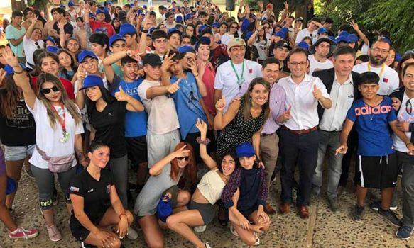 Campamento de verano en Picarquín: 700 estudiantes de la región participan en actividad organizada por la municipalidad de Doñihue