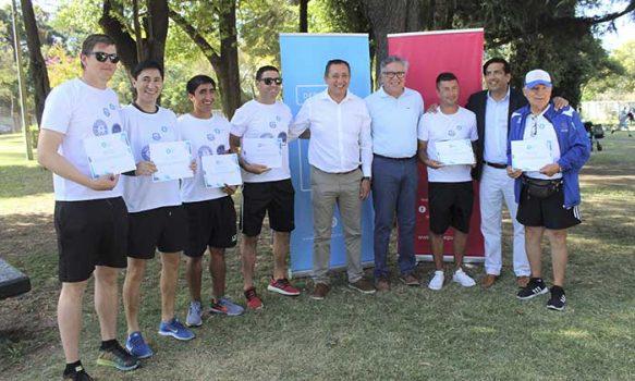Campeones rancagüinos del torneo latinoamericano de fútbol recibieron reconocimiento por parte del alcalde Eduardo Soto