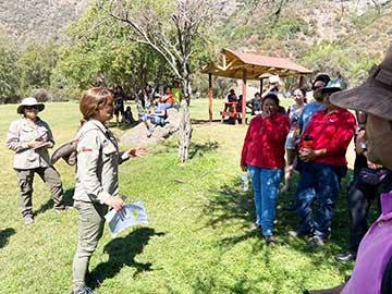 En la Reserva Nacional Río de los Cipreses, Conaf realizó el primer simulacro de evacuación ante emergencia