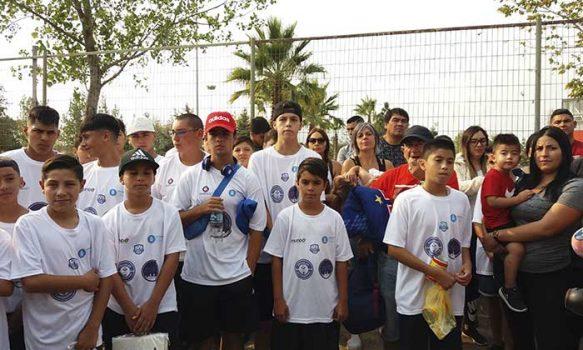 Escuela Municipal de Fútbol Santa Julia compite en certamen argentino
