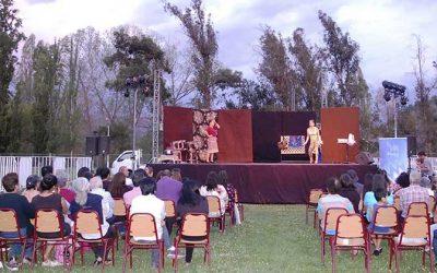 Más de dos mil personas disfrutaron del teatro al aire libre de Agrosuper