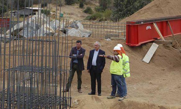 MOP O'Higgins está desarrollando importantes obras en apartadas localidades rurales de la Región
