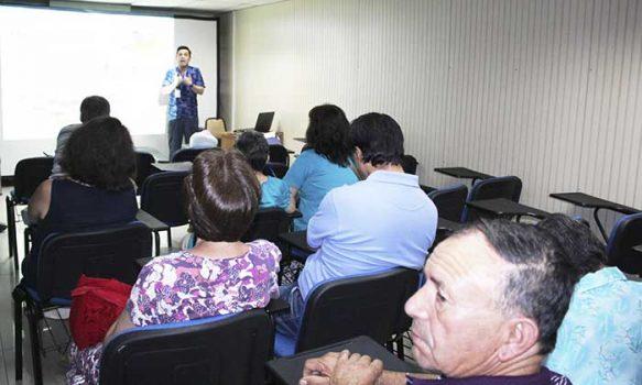 """Salud Machalí efectuó positivamente taller """"Cuidarse para Cuidar"""""""
