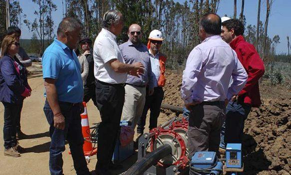 Se construye nuevo sistema APR en Pichilemu que estará operativo a fines del presente año