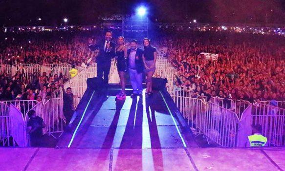 Sobre las 50 mil personas vibraron con la Fiesta de Nancagua 2020