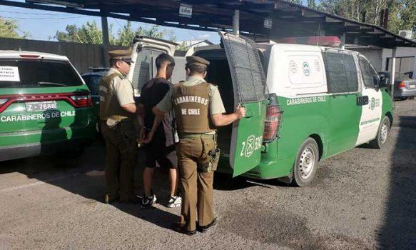 Tres sujetos fueron detenidos por receptación en Santa Cruz
