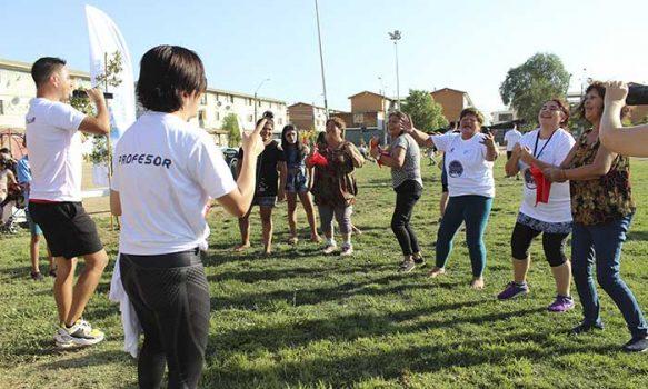 Vecinos de población Baltazar Castro participaron en feria deportiva