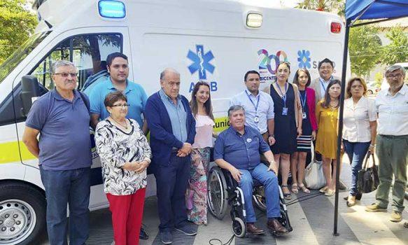 Vehículos de apoyo para atención primaria de Rengo son presentados a la comunidad