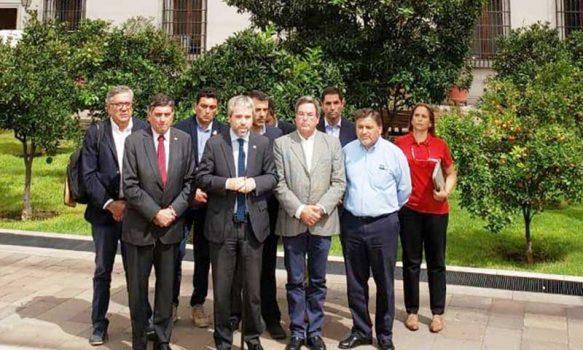 Alcalde de Rancagua se reúne con ministros de gobierno para abordar problemáticas sobre Coronavirus