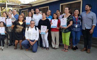 Alcalde de Rancagua y director del Serviu entregan 69 subsidios PDA a tres villas de la comuna